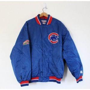 Vintage Chicago Cubs Baseball MLB Jacket Coat